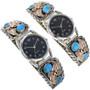 Navajo Handcrafted Watch Tips 24437