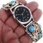 Turquoise Mens Watch Bracelet 24437