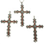 Southwest Inlaid Cross Pendants 28512