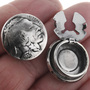 Genuine Indian Head Nickel Button Covers 23487