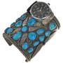 VintageTurquoise Watch Cuff 29674