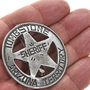 Western Silver Star Badge 29007