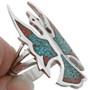 Peyote Bird Ladies Ring  27077