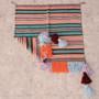 Saddle Blanket with Fringe Tassels 28387