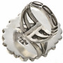 Navajo Sterling Traditional Ring 28692