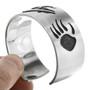 Sterling Bear Cuff Bracelet 10397