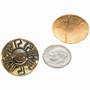 Navajo Gold Earrings 14494