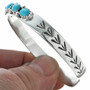 Sterling Turquoise Ladies Bracelet 28926