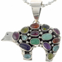Navajo Gemstone Pendant 19491