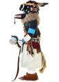 Vintage Old Style Zuni Corn Kachina Doll Hopi Cottonwood