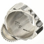 Sterling Silver Mens Ring 28954