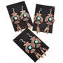 Native American Copper French Hook Earrings 23878