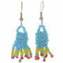 Navajo Seed Bead French Hook Earrings 29381