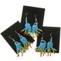 Seed Bead Native American Earrings 29381