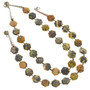 Yellow Turquoise Beaded Necklace 30051