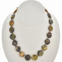 Navajo Yellow Turquoise Necklace 30051