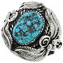 Turquoise Big Boy Mens Ring 23077