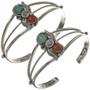Native American Turquoise Cuff Bracelet 23296