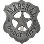 Marshal Dodge City Silver Badge 29194