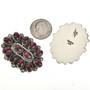 Old Pawn Style Navajo Gemstone Earrings 28847
