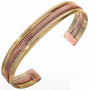 Copper Wire Gold Navajo Bracelet 28396