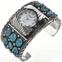 Natural Turquoise Mens Watch 23174