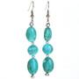 Turquoise Indian Drop Earrings 29033
