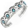 Navajo Bear Paw Cuff Bracelet 16135