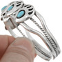 Ladies Turquoise Sterling Bracelet 16135