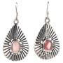 Pretty Pink Shell Dangle Earrings 29628