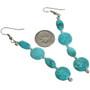 Navajo French Hook Dangle Earrings 29238
