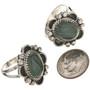 Southwest Green Gemstone Ring 28684