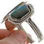 Azurite Sterling Silver Cuff Bracelet 14953