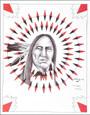 Limited Edition Native American Print by Navajo artist Frankie Nez