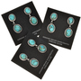 Navajo Turquoise Dangle Earrings 22390