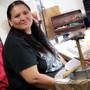 Navajo Artist Lenora Begay 27804