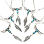 Natural Turquoise Y Necklace 28024