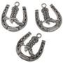 Silver Horseshoe Charms