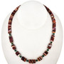 Spiny Oyster Turquoise Heishi Necklace 29486