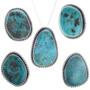 Bisbee Turquoise Pendants 28653