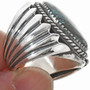 Big Boy Sterling Mens Ring 29279