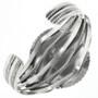 Sterling Silver Navajo Cuff Bracelet 12772