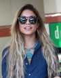 Celebrities Love Turquoise Vanessa Hudgens 29748