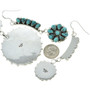 Sterling Turquoise Native American Jewelry 29748