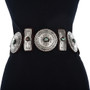 Full Size Southwest Silver Concho Belt 29618