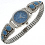Navajo Denim Lapis Ladies Watch 23005