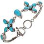 Southwest Turquoise Tennis Bracelet 11516