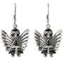 Southwest Silver Angel Earrings 29523