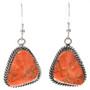 Navajo Apple Coral Earrings 29701