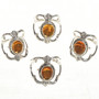Southwest Golden Citrine Rings 29014